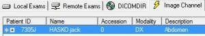 eFilm_AIS_patient load